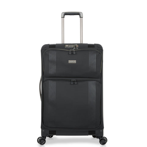 Antler Titus Medium 69cm Black Hybrid Suitcase