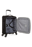 Antler Translite Cabin/Carry on 56cm Black Soft Suitcase
