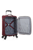 Antler Translite Medium 68cm And Cabin/Carry on 56cm Burgundy Soft Suitcase Set