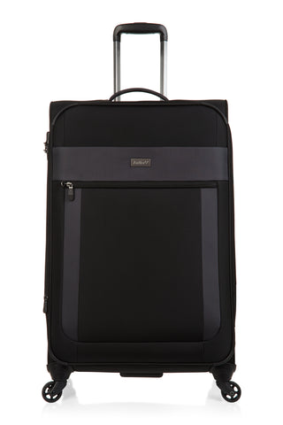 Antler Translite Large 81cm Black Soft Suitcase