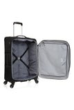 Antler Translite Medium 68cm Black Soft Suitcase