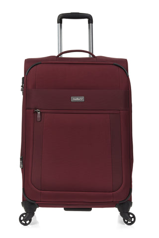 Antler Translite Medium 68cm Burgundy Soft Suitcase