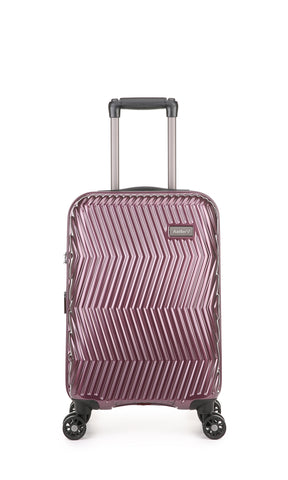 Viva Cabin/Carry On 56cm Aubergine Expandable Hard Suitcase