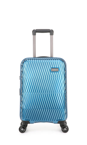 Viva Cabin/Carry On 56cm Teal Expandable Hard Suitcase
