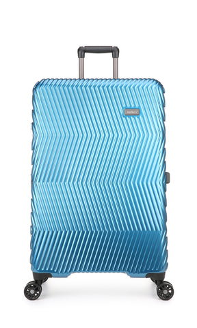 Viva 80cm Large Teal Expandable Hard Suitcase