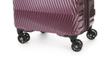 Viva 80cm Large Aubergine Expandable Hard Suitcase
