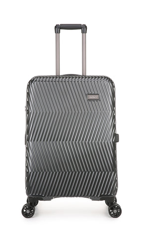 Viva 67.5cm Medium Charcoal Expandable Hard Suitcase