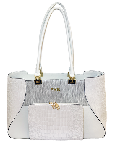 Antler FYB London SMART City Travel Tote White