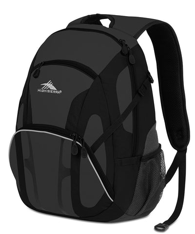 High Sierra Composite Backpack Charcoal/Black