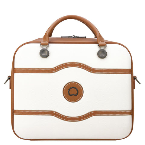 Delsey Chatelet Air Cabin 48hrs White Tote Travel Bag