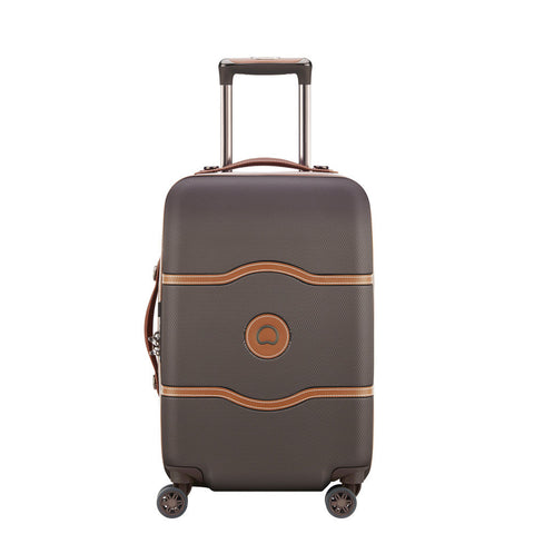 Delsey Chatlet Air Carry On/Cabin 55cm Chocolate Suitcase