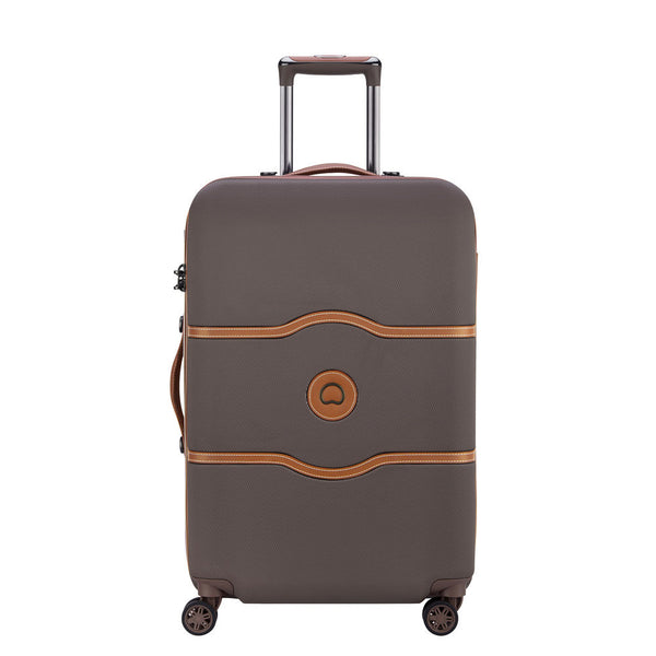 6b176270e Delsey Chatelet Air Medium 67cm Chocolate Suitcase