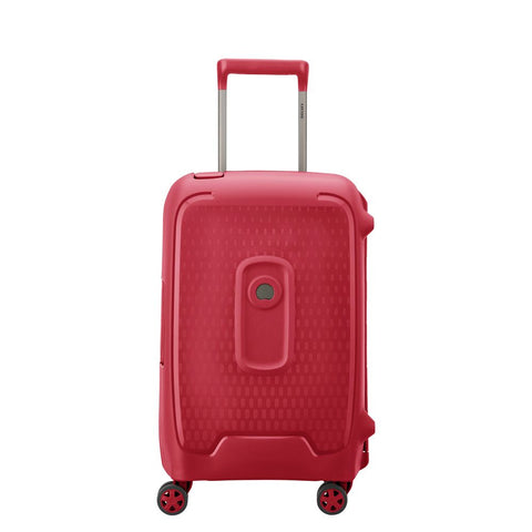 Delsey Moncey Cabin/Carry On 55cm Red Suitcase
