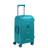 Delsey Moncey Cabin/Carry On 55cm Meridan Green Hard Suitcase