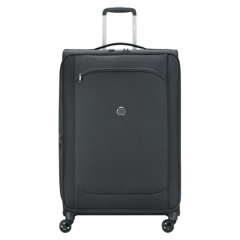 Delsey Montmartre Air 2.0 Large 78cm Black Soft Suitcase