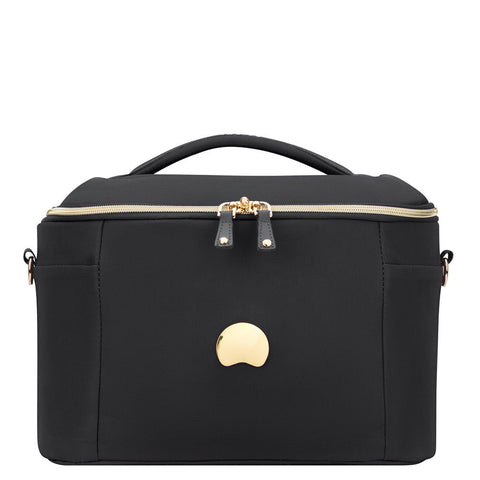 Delsey Montrouge Tote Beauty Case Black