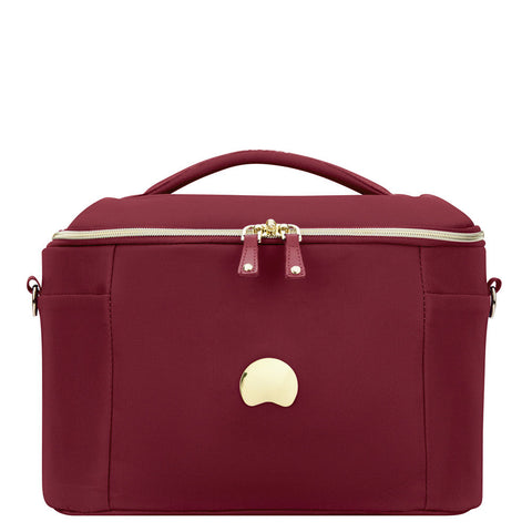 Delsey Montrouge Tote Beauty Case Red