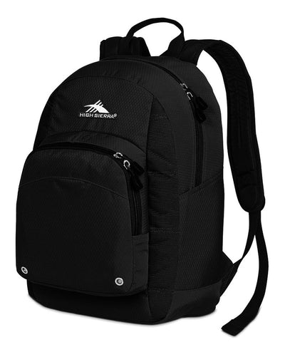 High Sierra Impack Backpack Black