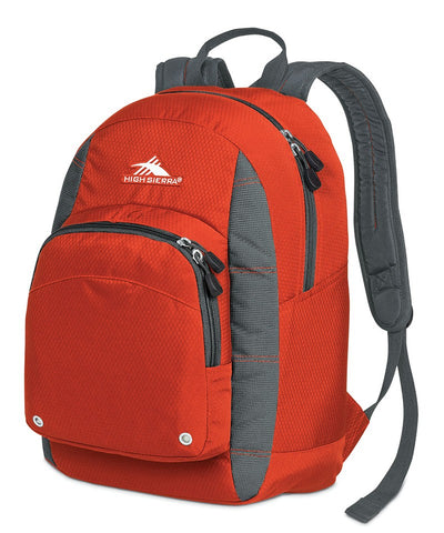 High Sierra Impact Backpack Lava/Charcoal