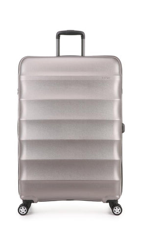 Antler Juno Metallic DLX Large 79cm Bronze Expandable Hard Suitcase