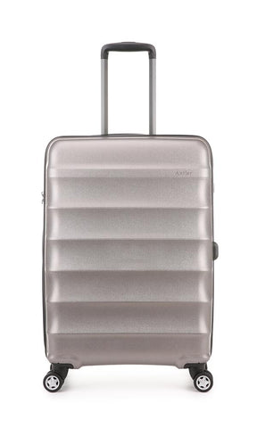 Antler Juno Metallic DLX Medium 68cm Bronze Expandable Hard Suitcase