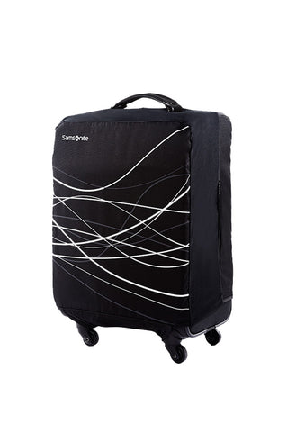 Samsonite Medium + Foldable Suitcase Cover Black