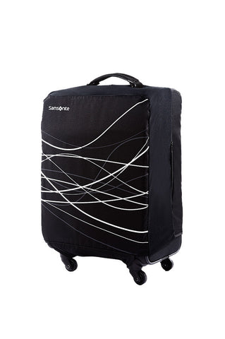 Samsonite Medium Foldable Suitcase Cover Black