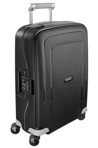 Samsonite S'Cure Cabin/Carry On 55cm Black Hardcase