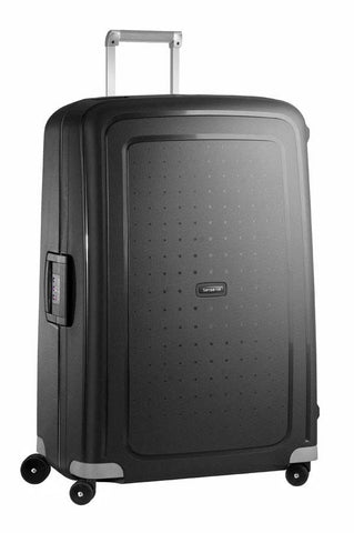 Samsonite S'Cure Spinner Extra Large 81cm Black Suitcase