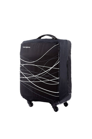 Samsonite Small Foldable Suitcase Cover Black