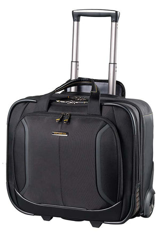 "Samsonite Viz Air Plus 15.6"" Rolling Tote Bag Black"