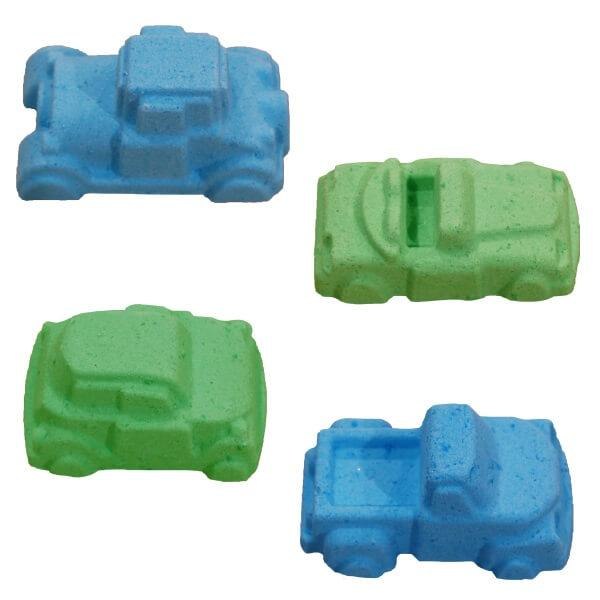 All Natural Kids Bath Bombs, car and truck shaped by Salem Essentials (SEA).