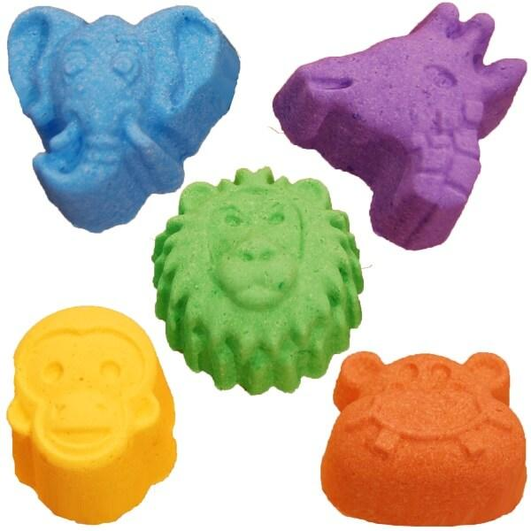 All Natural Kids Safari Bath Bombs by Salem Essentials (SEA).