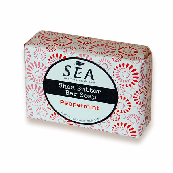 Peppermint Shea Butter Bar Soap
