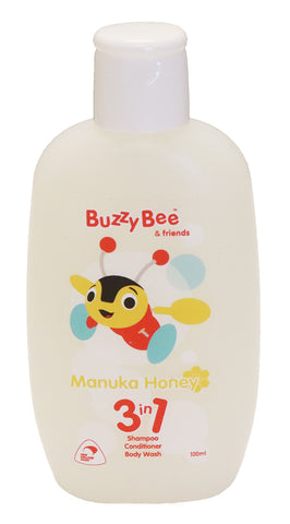 Children's bath time with Buzzy Bee