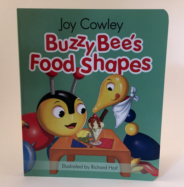 Buzzy Bee's Food Shapes - board book