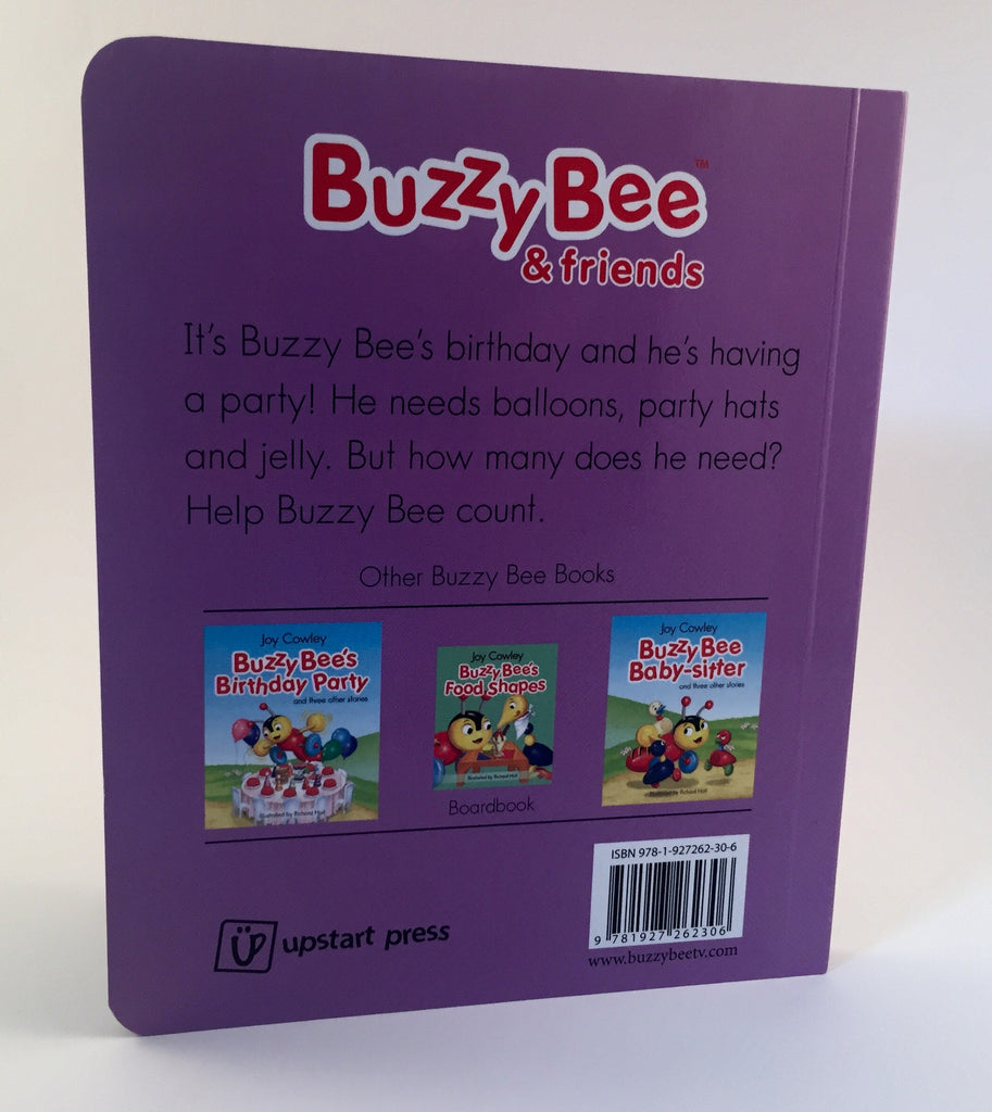 Buzzy Bees birthday party board book Buzzy Bee friends