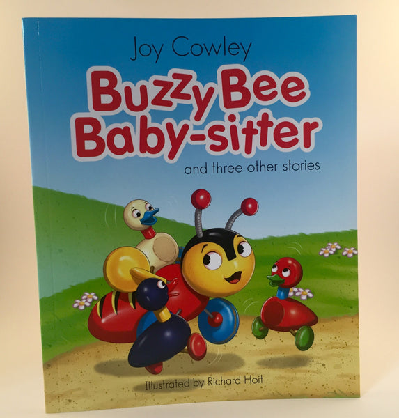 Buzzy Bee Baby-Sitter - 4 story picture book