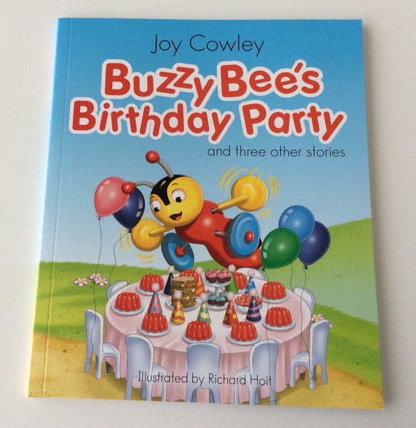 Buzzy Bee's Birthday Party - 4 story picture book