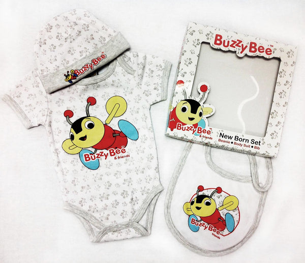 Buzzy Bee new born set