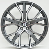 ARROW 22x9.5 ET30 5/112 Grey Machined