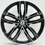 BLADE 19x8.5 ET42 5/112 Black Machined