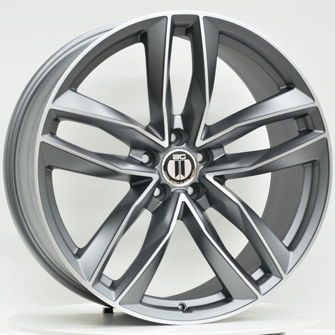 BLADE 20x9 ET35 5/112 Grey Machined