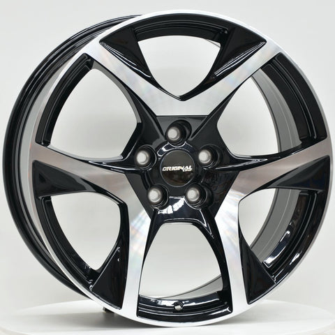 CR-8 20 Inch Staggered ET42 Black Machined Face