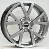 V-GTS 20 Inch Staggered ET45 Hyper Black