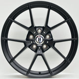 M400 20 Inch Staggered ET23 5/112 Satin Black