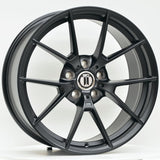 M400 19 Inch Staggered ET35 Satin Black