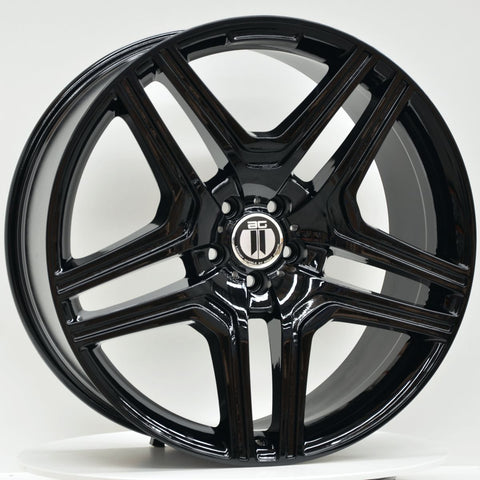 AM63M 22x10 ET48 BLACK