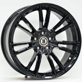 MLC 20 Inch Staggered ET23 5/112 Black