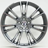 MLC 20 Inch Staggered ET35 Grey Machined Face